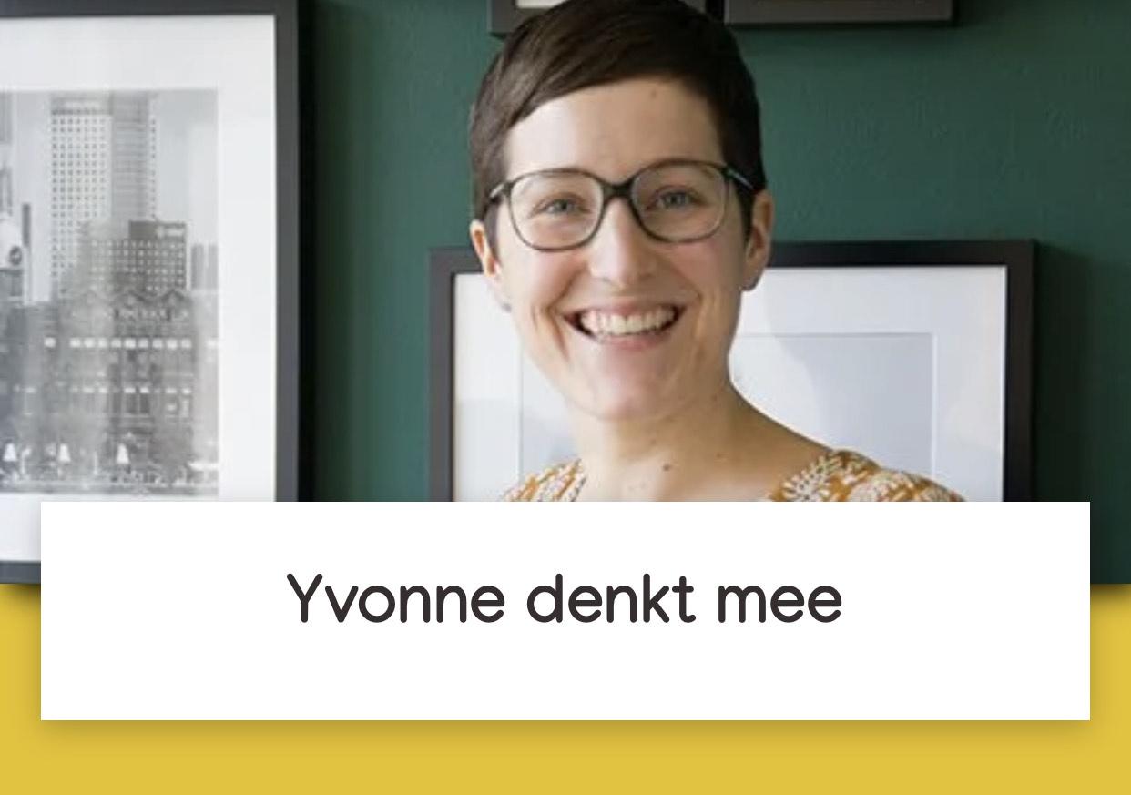 Yvonne denkt mee profielfoto